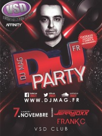 DJ Mag Party w/ Jerry Joxx