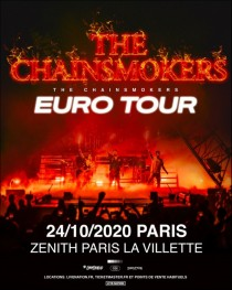 The Chainsmokers - Zénith Paris