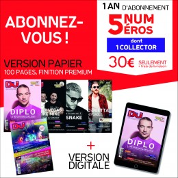 Abonnement Club DJ Mag 1 an